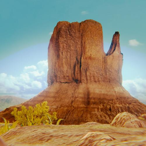 Rock Formation - Left Mitten - Monument Valley in Arizona preview image