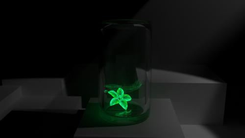 Glowing Crystal Flower preview image