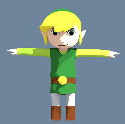 Request-ToonLink Rigged preview image