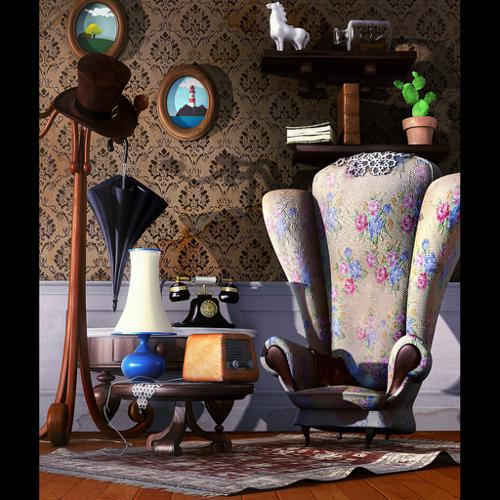 "relax corner inspired by pixar ""UP"" preview image"