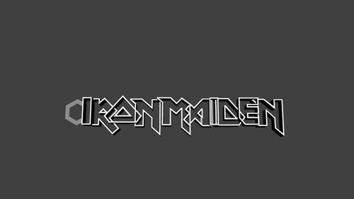Iron Maiden key chain (printable) preview image