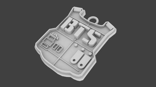 BTS Key Chain (printable) preview image