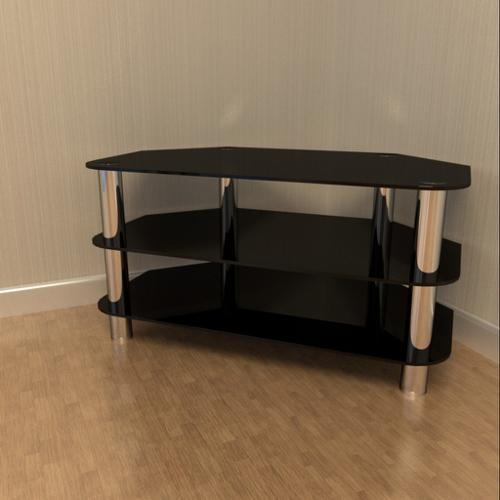 Glass and Chrome TV Stand preview image