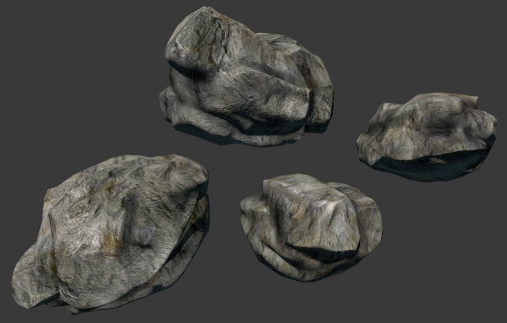 Lowpoly Rocks preview image 2