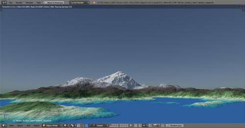 Terrain Generator Shader preview image