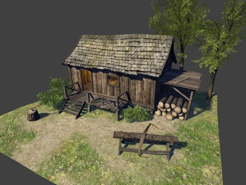 Woodcutter's Cabin preview image