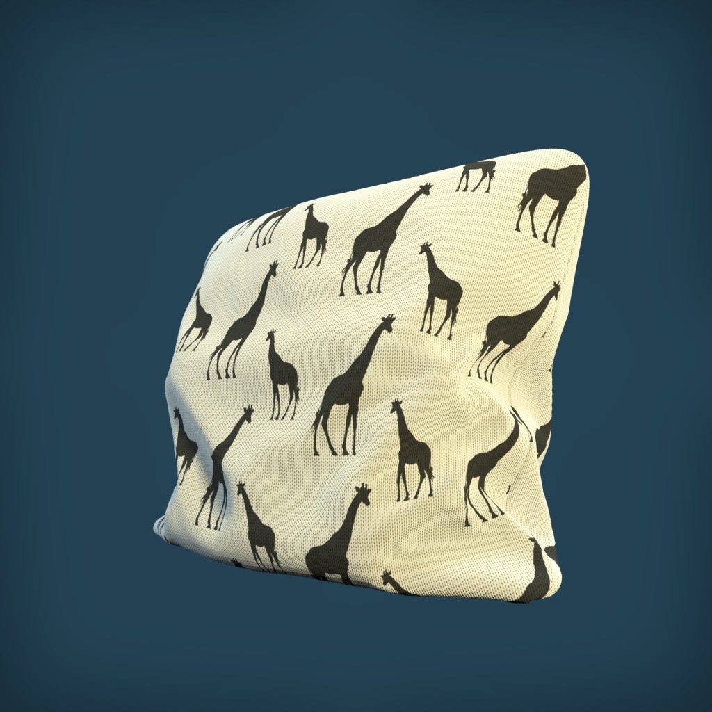 Realistic PBR Pillow preview image 1