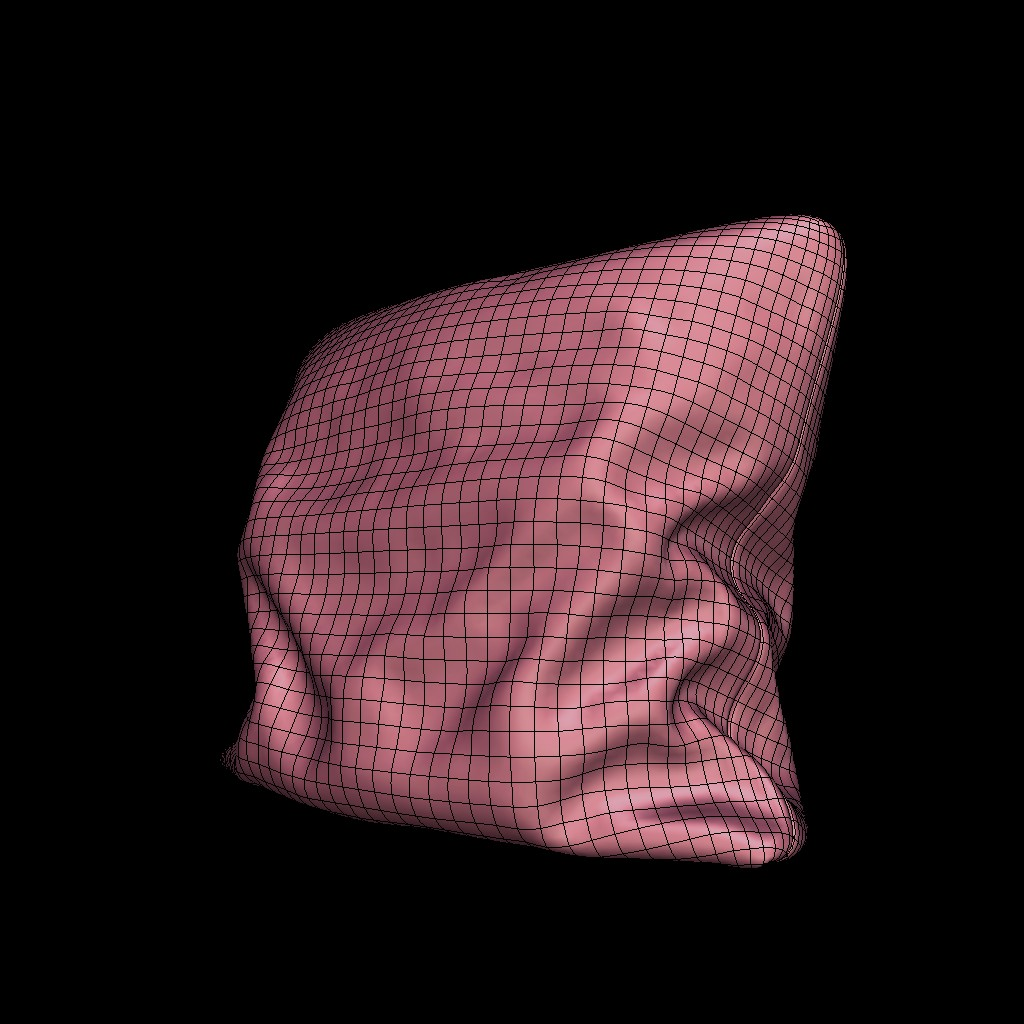 Realistic PBR Pillow preview image 2