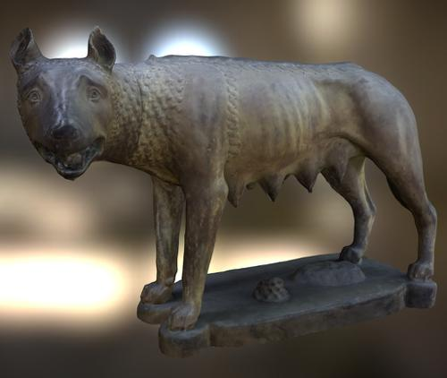 The Capitoline wolf preview image