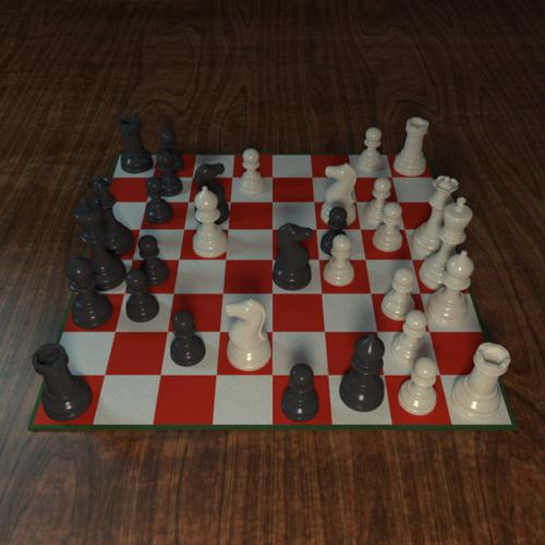 Standard (Stauton) Chess Set preview image
