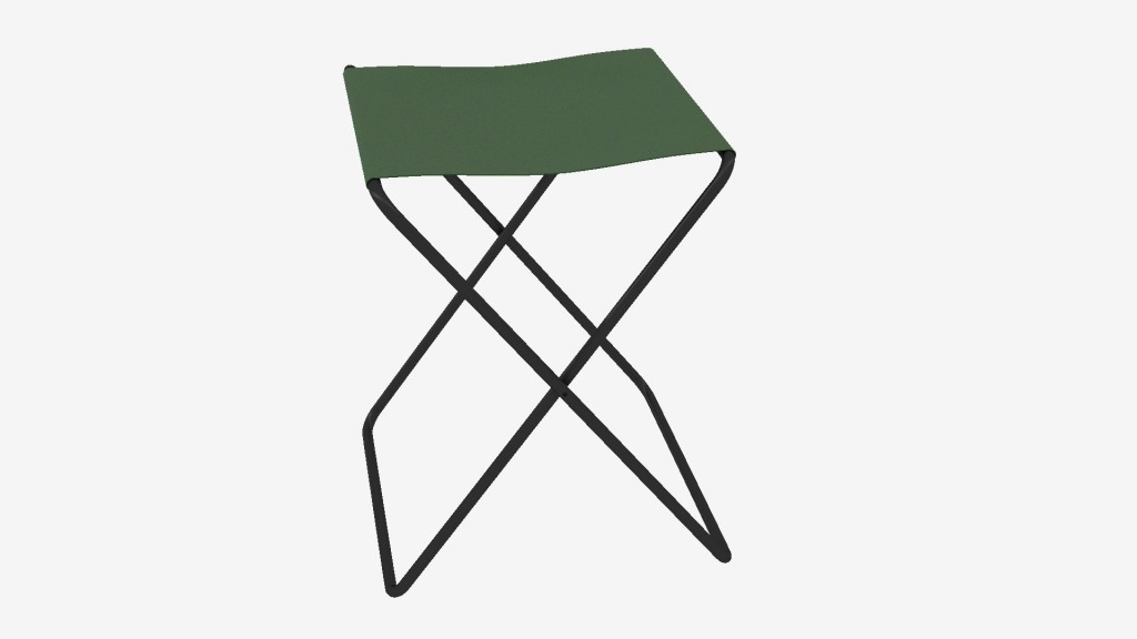 Animated folding chair preview image 1