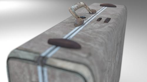 vintage suitcase  preview image