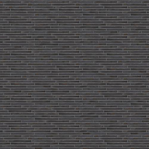 Tileable Long Dark Brick Wall Texture preview image