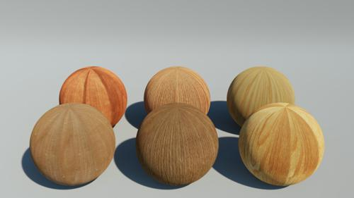 Wood PBR 6pack Vol1 preview image