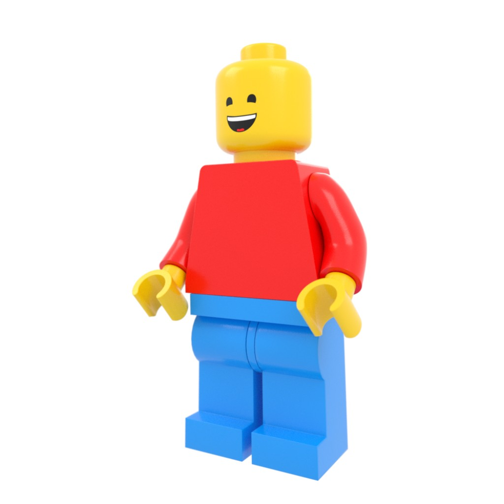 Lego Person w/ Face Texture Rig preview image 1