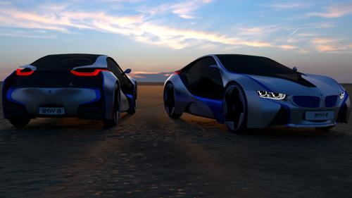 BMW i8 preview image