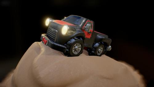 Toy Pickup-Truck (Sandy Update) preview image