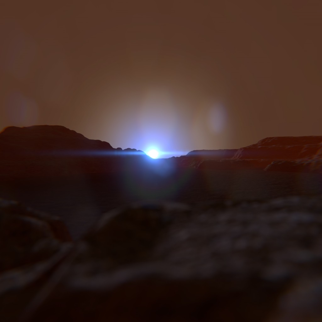 Martian Environment, Including HDR @ 17000x5000 pixels preview image 2