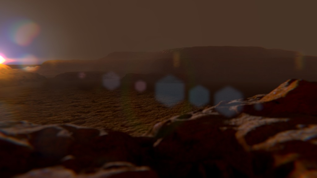 Martian Environment, Including HDR @ 17000x5000 pixels preview image 3