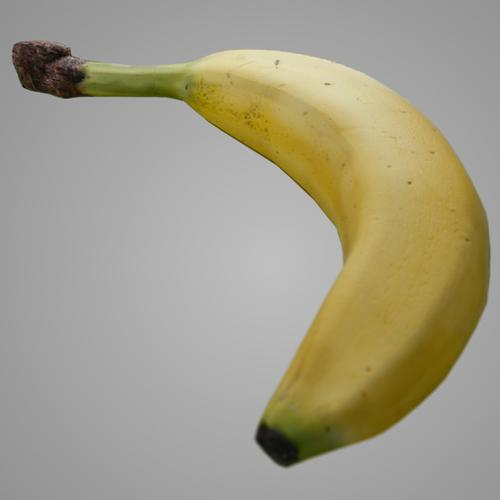 realistic banana preview image
