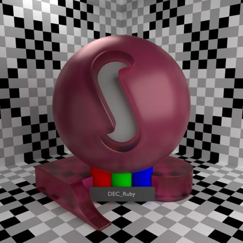 Cycles Corundum Shader (Ruby/Sapphire) preview image