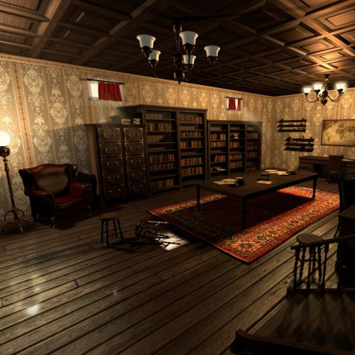 Study Room (Game Engine) preview image