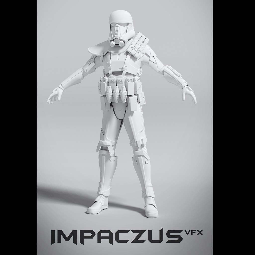 Rogue One Death Trooper Armor preview image 1