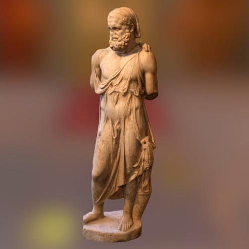 Heracles in woman dress preview image