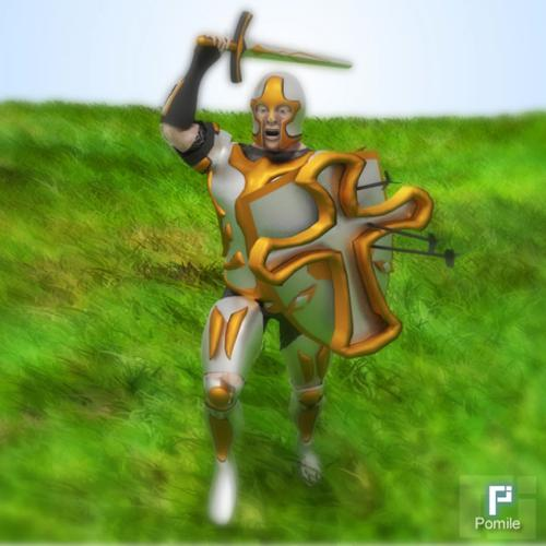 Knight (Rigged - Mid Poly) preview image