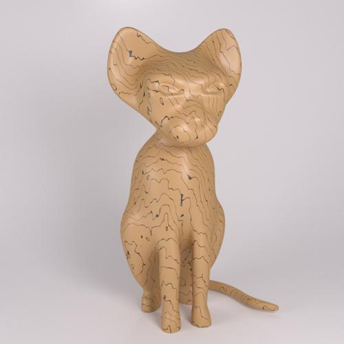 Cat figurine preview image