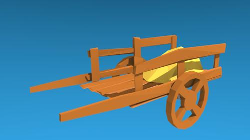 Wood Cart preview image