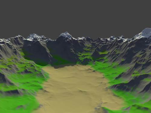 Auto Terrain Material preview image