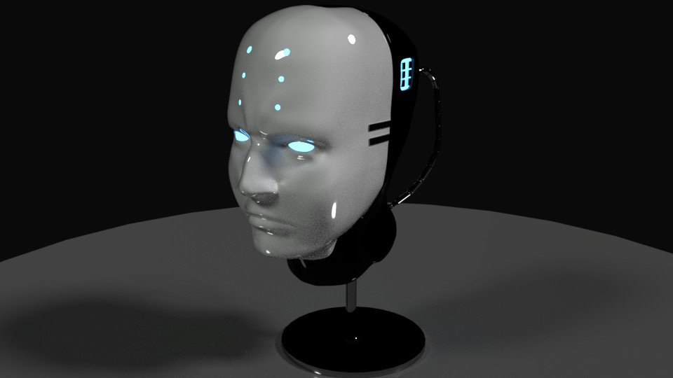Cyborg Head preview image 1