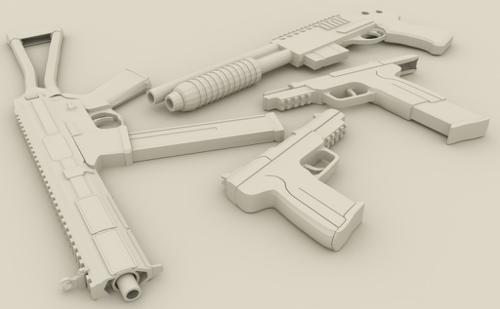 Weapon Pack (Low-Poly) preview image