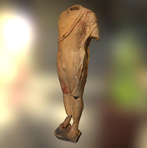 Funeral statue of a noble etruscan preview image