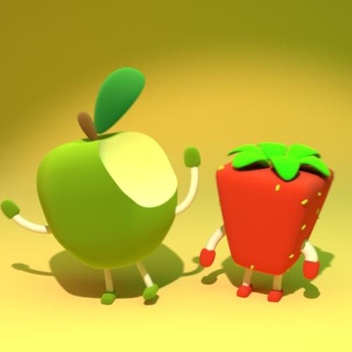 Apple and Strawberry preview image