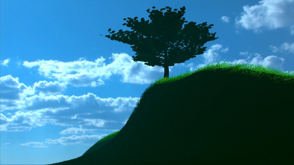 Simple Tree and Simple Grass Efect preview image 2