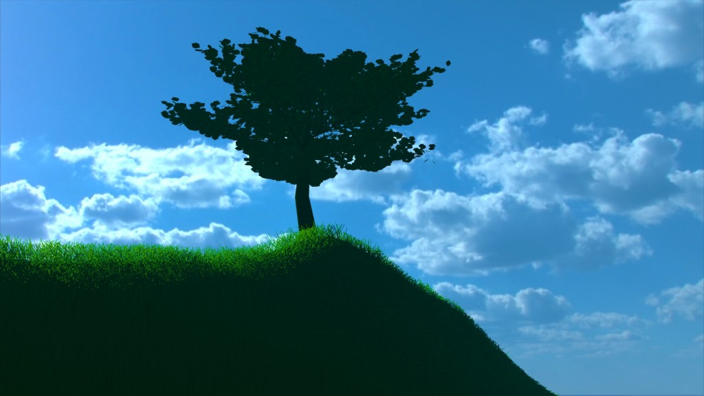Simple Tree and Simple Grass Efect preview image 3