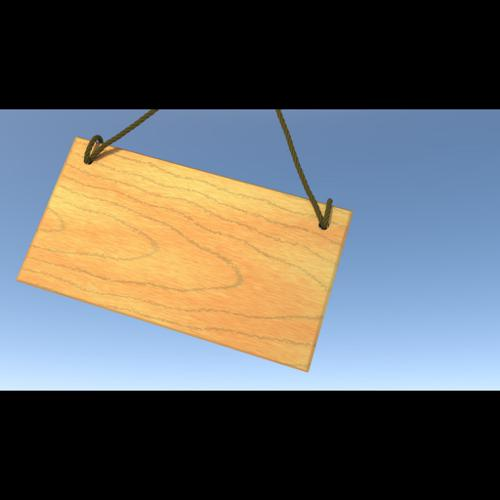 Wooden Sign Animation preview image