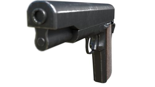 PBR hand gun preview image