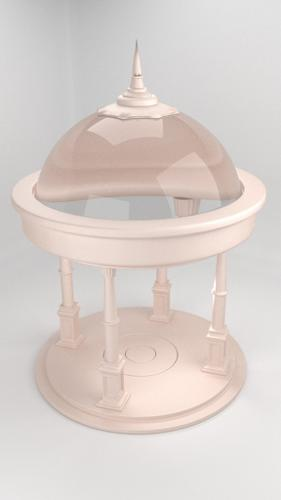 Glass Roofed Gazebo preview image