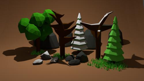 PigArt's Forest Assets (Extra Stuff) preview image