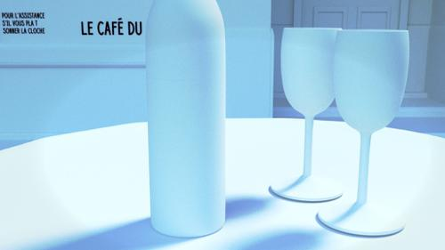 Parisian Cafe Scene preview image