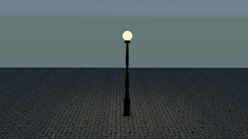 Victorian Lamp Post #1 preview image