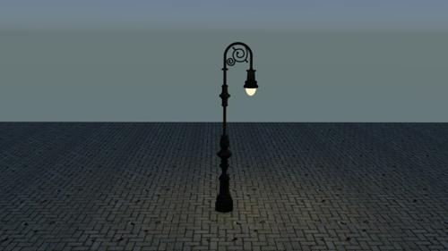 Victorian Lamp Post #2 preview image