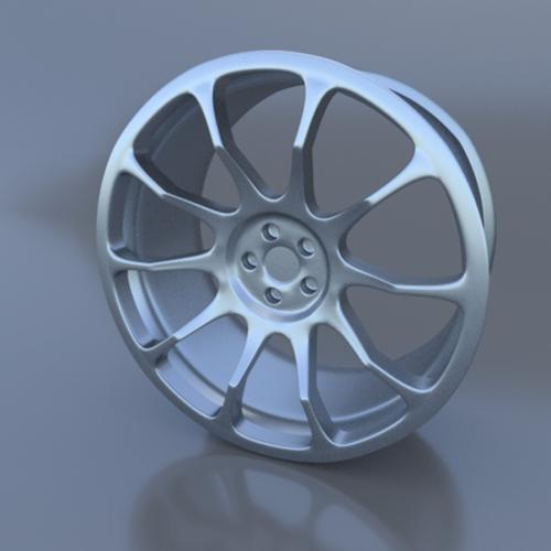 Car wheel preview image