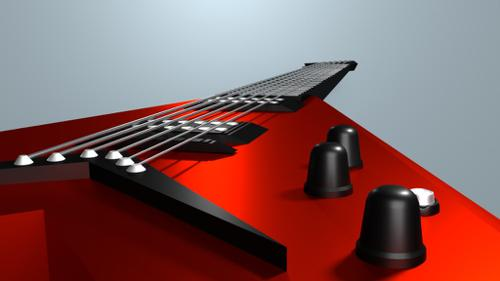 Elecrtic Guitar - Flying V preview image