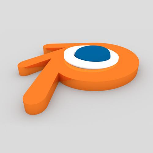 Blender Logo (Cycles) preview image