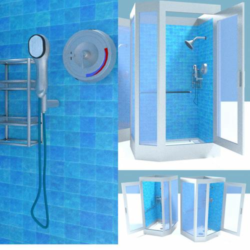 Shower Stall -- Two Versions preview image