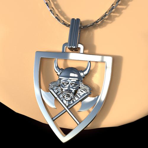 Viking necklace preview image